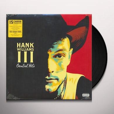 Hank Williams Iii GREATEST HITS Vinyl Record