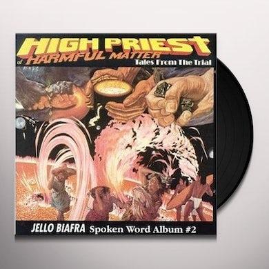 Jello Biafra HIGH PRIEST OF HARMFUL MATTER Vinyl Record