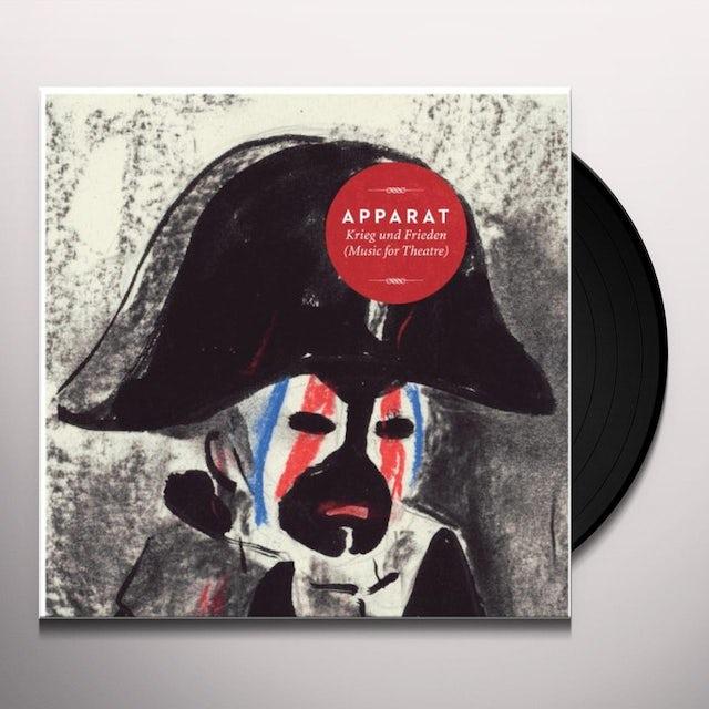 Apparat KRIEG UND FRIEDEN (MUSIC FOR THEATRE) Vinyl Record