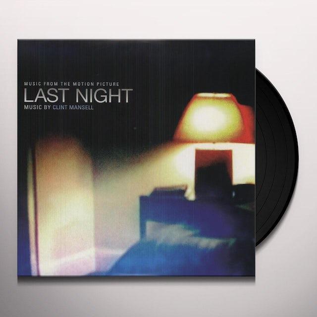 Clint Mansell LAST NIGHT Vinyl Record