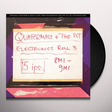 QUATERMASS & THE PIT (ELECTRONIC CUES) (ORIGINAL S Vinyl Record