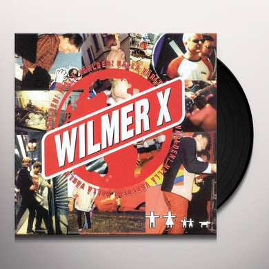 Wilmer X HALLA VARLDEN Vinyl Record
