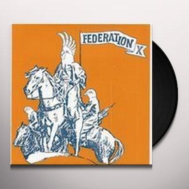 Federation X THEME FOR A NUDE DISINTEGRATING PARACHUTIST WOMAN Vinyl Record