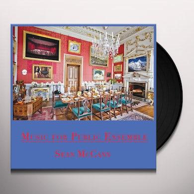 Sean Mccann MUSIC FOR PUBLIC ENSEMBLE Vinyl Record