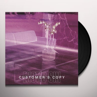 Exotic Sin CUSTOMER'S COPY Vinyl Record