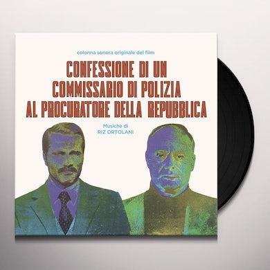 Riz Ortolani CONFESSIONE DI UN COMMISSARIO DI POLIZIA AL Vinyl Record