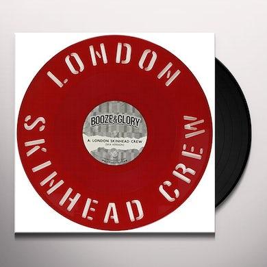 Booze & Glory LONDON SKINHEAD CREW DIECUT Vinyl Record