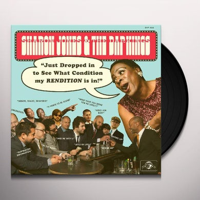 Sharon Jones & The Dap-Kings JUST DROPPED IN (TO SEE WHAT CONDITION) Vinyl Record