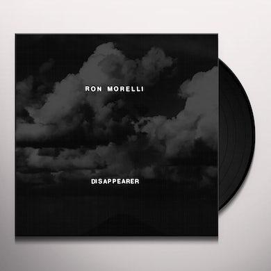 Ron Morelli DISAPPEARER Vinyl Record