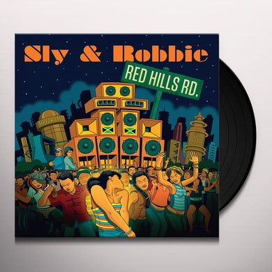 Sly & Robbie RED HILLS ROAD Vinyl Record