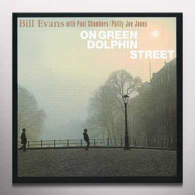Bill Evans GREEN DOLPHIN STREET Vinyl Record - Colored Vinyl, Green Vinyl, 180 Gram Pressing, Spain Release