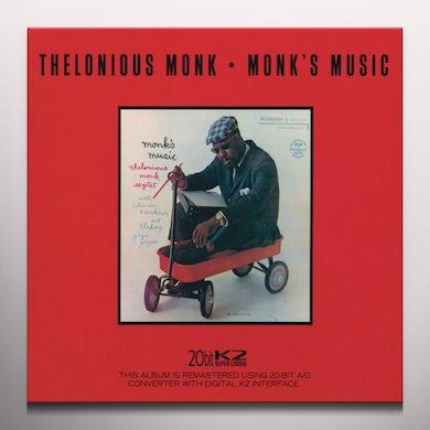 Thelonious Monk MONK'S MUSIC Vinyl Record - Colored Vinyl, 180 Gram Pressing, Red Vinyl, Spain Release