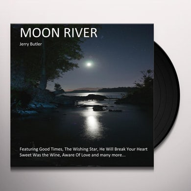 Jerry Butler MOON RIVER Vinyl Record - Limited Edition, 180 Gram Pressing, Spain Release