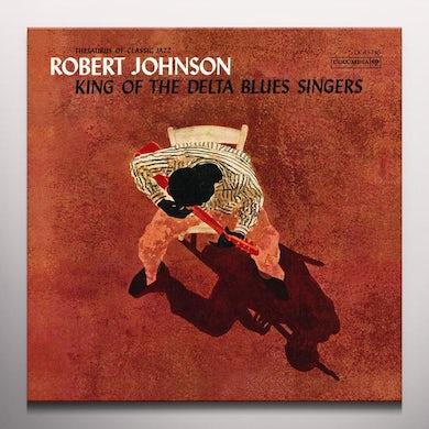 Robert Johnson KING OF THE DELTA BLUES SINGERS Vinyl Record - Colored Vinyl, 180 Gram Pressing, Orange Vinyl