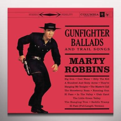 Marty Robbins GUNFIGHTER BALLADS & TRAIL SONGS Vinyl Record - Colored Vinyl, 180 Gram Pressing