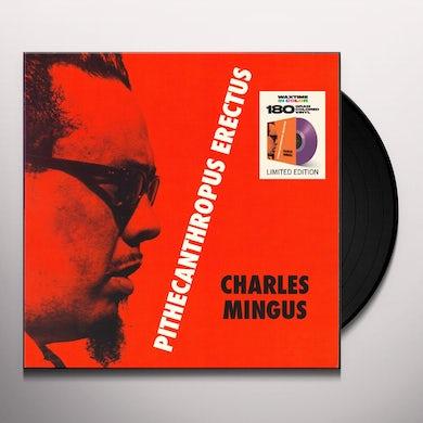 Charles Mingus PITHECANTROPUS ERECTUS Vinyl Record - Colored Vinyl, 180 Gram Pressing, Purple Vinyl, Spain Release