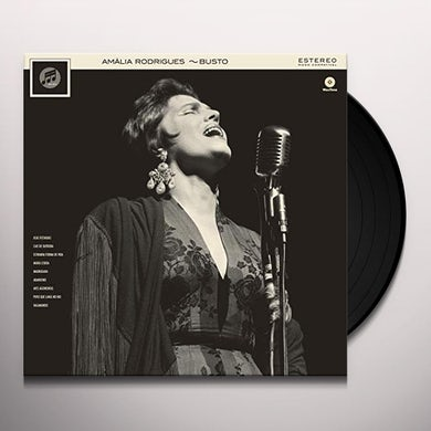 Amalia Rodrigues BUSTO Vinyl Record - 180 Gram Pressing, Spain Release