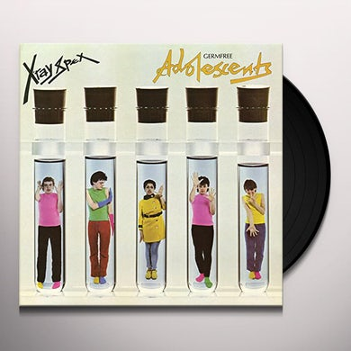 X-Ray Spex GERMFREE ADOLESCENTS Vinyl Record