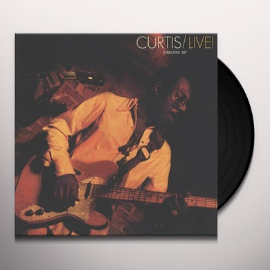 Curtis Mayfield CURTIS / LIVE! Vinyl Record