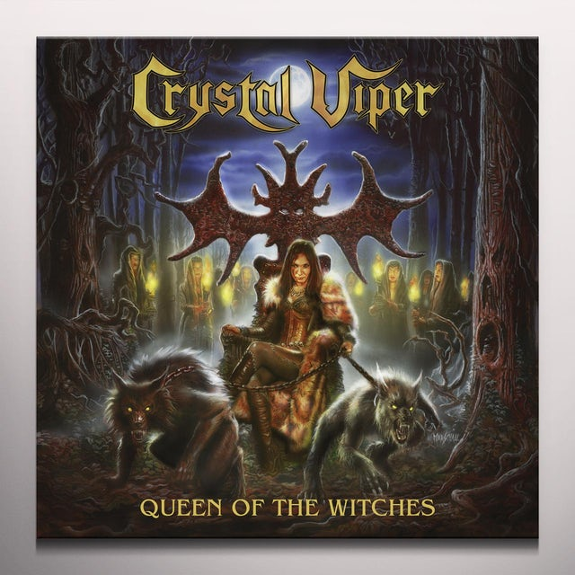 Crystal Viper QUEEN OF THE WITCHES Vinyl Record