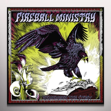 Fireball Ministry REMEMBER THE STORY Vinyl Record
