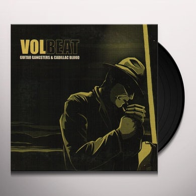 Volbeat GUITAR GANGSTERS & CADILLAC BLOOD Vinyl Record