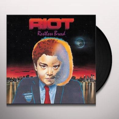 Riot RESTLESS BREED Vinyl Record