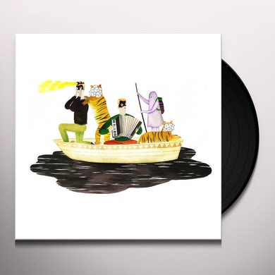 Man Man ON ONI POND (TRANS CLEAR) Vinyl Record