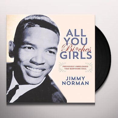 Jimmy Norman ALL YOU GIRLS / IT'S BEAUTIFUL WHEN YOU'RE FALLING Vinyl Record