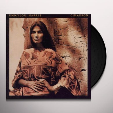 Emmylou Harris CIMARRON Vinyl Record