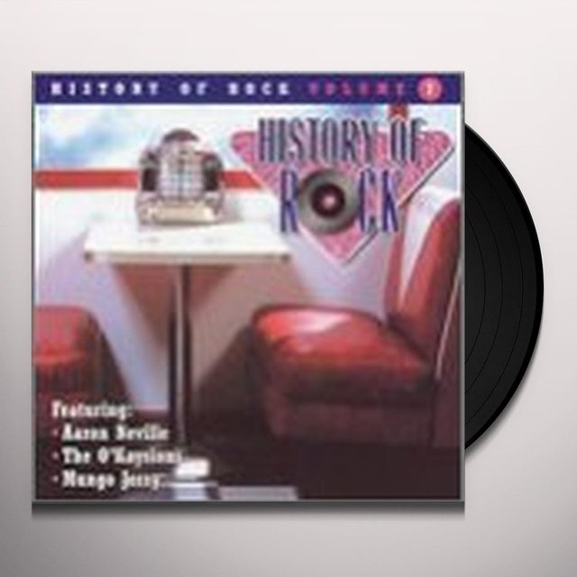 History Of Rock 7 / Various Vinyl Record
