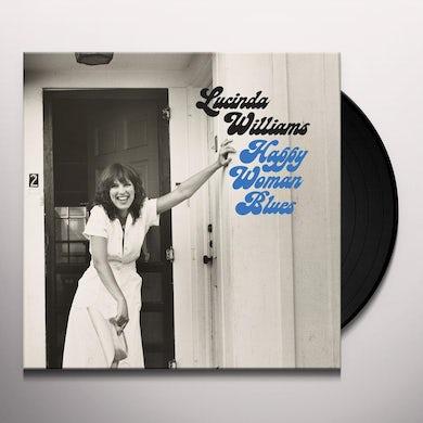 Lucinda Williams HAPPY WOMAN BLUES Vinyl Record