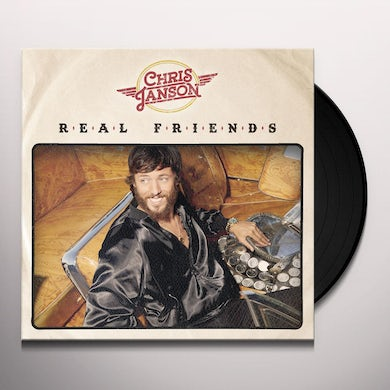 Chris Janson REAL FRIENDS Vinyl Record