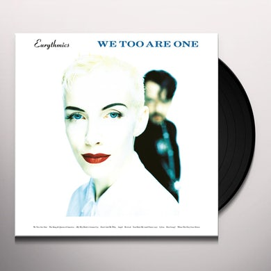 Eurythmics WE TOO ARE ONE Vinyl Record