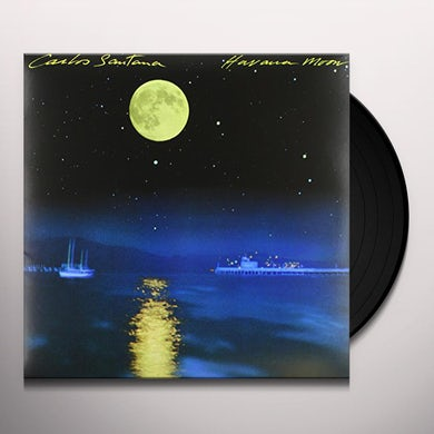 Santana HAVANA MOON Vinyl Record