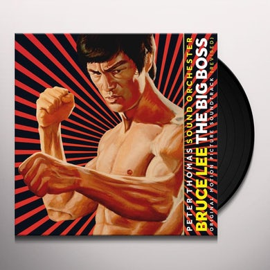 BRUCE LEE: THE BIG BOSS (FIST OF FURY) / Original Soundtrack Vinyl Record