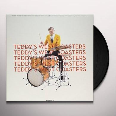 TEDDY'S WEST COASTERS VOLUME 1 Vinyl Record