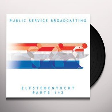 Public Service Broadcasting ELFSTEDENTOCHT Vinyl Record