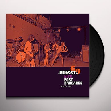 Johnny Hallyday LIVE PORT BARCARES Vinyl Record