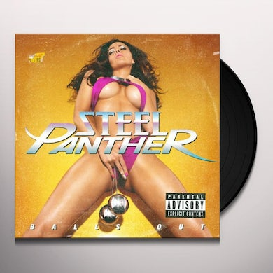 Steel Panther BALLS OUT Vinyl Record