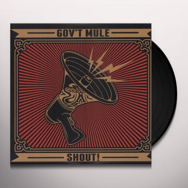 Govt Mule SHOUT Vinyl Record