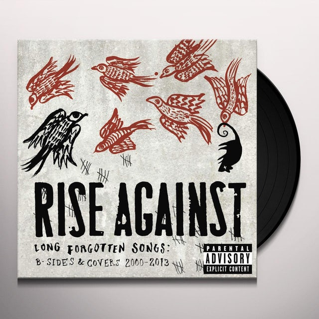 Rise Against LONG FORGOTTEN SONGS: B-SIDES & COVERS 2000-2013 Vinyl Record