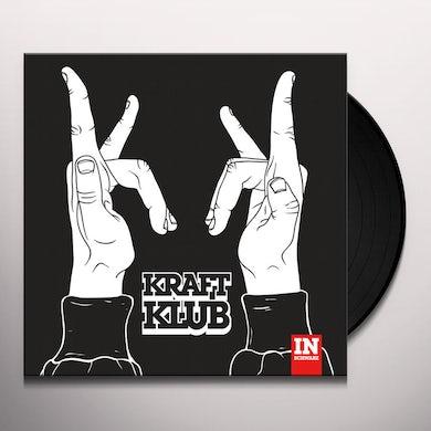 Kraftklub IN SCHWARZ (DL CARD) Vinyl Record