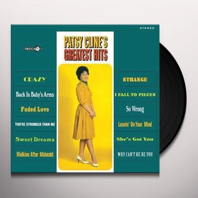 Patsy Cline Greatest Hits (LP) Vinyl Record