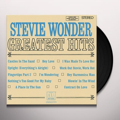 Stevie Wonder  GREATEST HITS 2 Vinyl Record