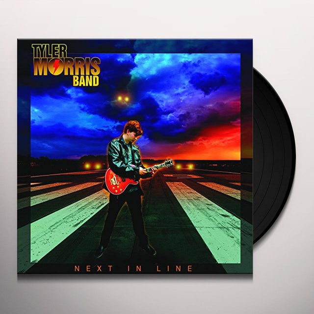 Tyler Morris NEXT IN LINE Vinyl Record