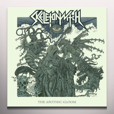 Skeletonwitch APOTHIC GLOOM (MARBLED) Vinyl Record