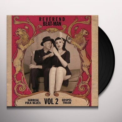 Reverend Beat-Man SURREAL FOLK BLUES GOSPEL TRASH 2 Vinyl Record