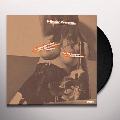 D-Tension PRETTY LITTLE WHORES / LAY 'EM DOWN Vinyl Record