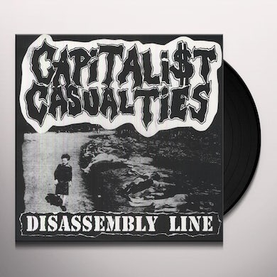 Capitalist Casualties DISASSEMBLY LINE Vinyl Record